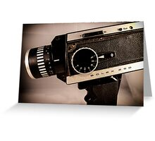 Bolex 250  Greeting Card