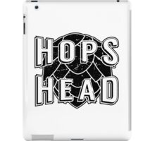 Hops Head - Beer Saying iPad Case/Skin