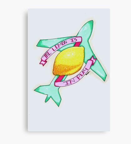 The Lemon  Canvas Print