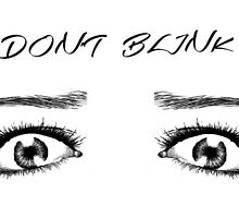 DOCTOR WHO INSPIRED DON'T BLINK by sdixon