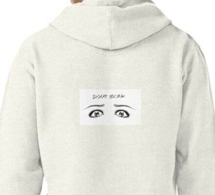 DOCTOR WHO INSPIRED DON'T BLINK Pullover Hoodie
