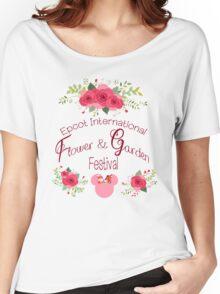 Epcot International Flower and Garden Festival Women's Relaxed Fit T-Shirt