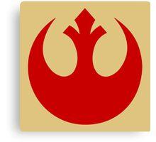Rebel Alliance (red) Canvas Print