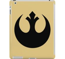 Rebel Alliance (black) iPad Case/Skin