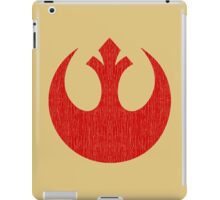 Rebel Alliance (red, distressed) iPad Case/Skin