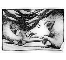 Solstice Boar Hunt Poster