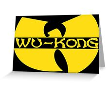 Wukong Top Ain't Nuttin' to **** Wit! Greeting Card