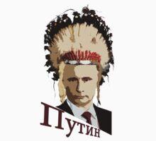 Vladimir Putin, Indian Style Kids Tee