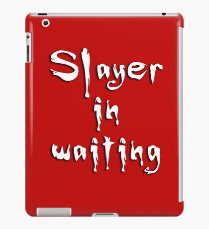 Slayer in waiting iPad Case/Skin