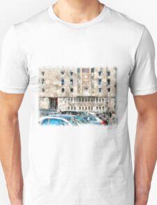 Rome: Augusto imperatore square  Unisex T-Shirt