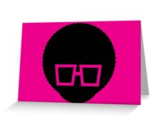 Party Icon - Face Greeting Card