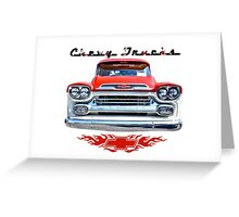 Classic Chevy Trucks Greeting Card