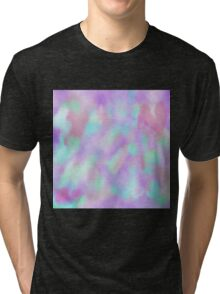 Psychedelic Watercolor  Tri-blend T-Shirt