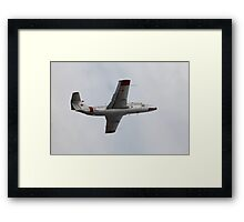 Soviet military aircraft in flight Framed Print