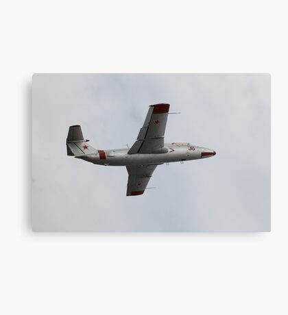 Soviet military aircraft in flight Canvas Print