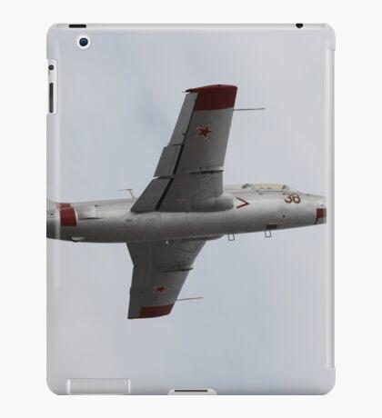 Soviet military aircraft in flight iPad Case/Skin