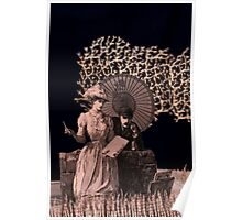 Now was her opportunity book sculpture Poster