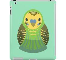 Budgie Nesting Doll iPad Case/Skin