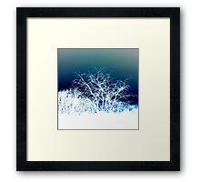 Winter is coming (landscape) Framed Print