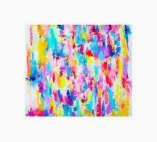 Neon Bright Abstract Painting Print  Classic T-Shirt