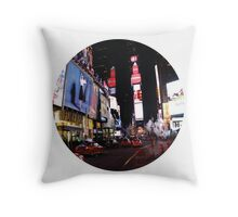 NYC - Times Square Throw Pillow