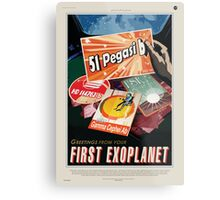 Greetings from your First Exoplanet Metal Print
