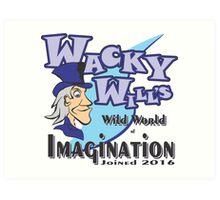 WACKY WILL'S Art Print