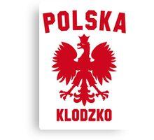 POLSKA KLODZKO Canvas Print