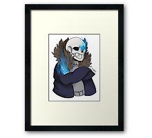 Sansy boy Framed Print