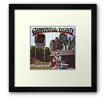 Welcome to the Mars Hotel Framed Print