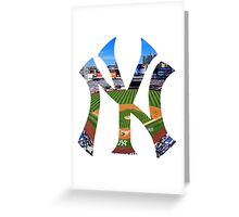 New York Yankees Stadium Logo Greeting Card