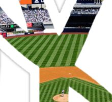 New York Yankees Stadium Logo Sticker