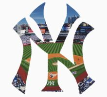 New York Yankees Stadium Logo Kids Tee