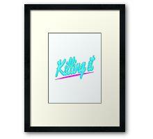 Killing it - Hotline Miami Framed Print