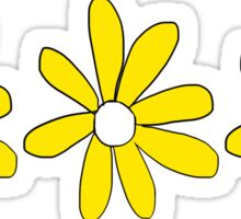 flowers yellow  Sticker