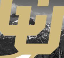 University of Colorado Boulder (mountains) Sticker
