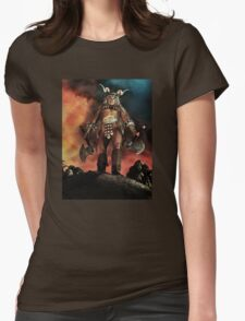 Warrior Version 1 Womens Fitted T-Shirt