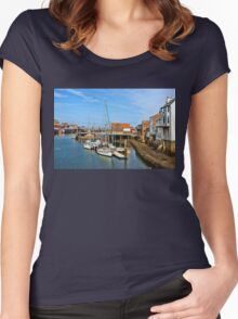 Seafaring History  Women's Fitted Scoop T-Shirt