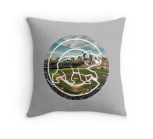 Chicago Cubs Stadium Logo Throw Pillow