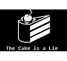 Portal : The Cake is a Lie Photographic Print