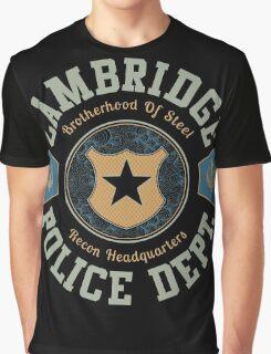 Cambridge Police Dept. Graphic T-Shirt