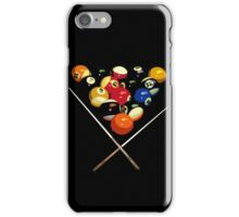 pool billard, billard balls iPhone Case/Skin