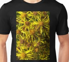Yellow Floral Bloom Unisex T-Shirt