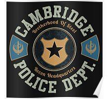 Cambridge Police Dept. Poster