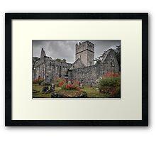 Muckross Abbey - Killarney - County Kerry - Ireland Framed Print