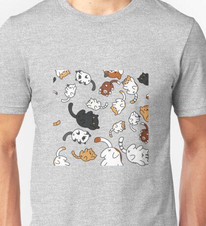 Neko Atsume Kitty Collage Unisex T-Shirt