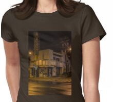 Kaimuki Queen Theater Womens Fitted T-Shirt