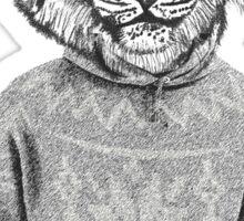 Hipster urban tiger Sticker