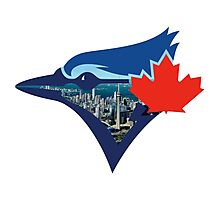 Toronto Blue Jays Skyline Logo Photographic Print