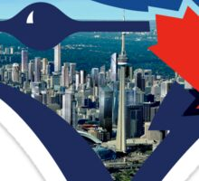 Toronto Blue Jays Skyline Logo Sticker